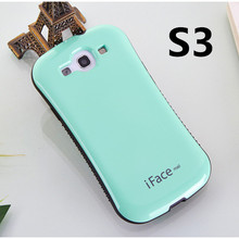 Buy Dropproof case Samsung Galaxy S3 Shockproof Cover Galaxy S3 i9300 case Anti-Knock Shell candy color iface for $6.07 in AliExpress store