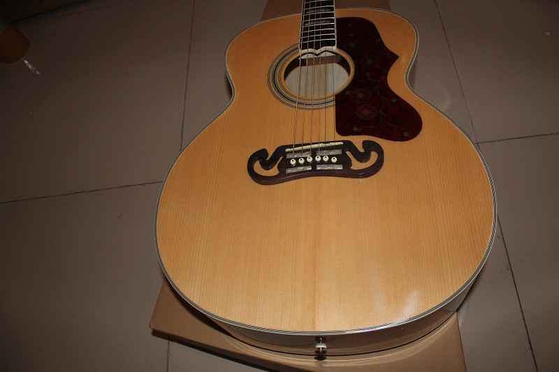 new wholesale Pete Townshend signature natural maple back and side Tiger stripes Acoustic Guitar(China (Mainland))
