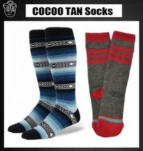 NEW knee high kid ski socks Bottom towel Summer style odd socks Winter Warm long Terry Wool Outdoor Sports Sock 182w(China (Mainland))