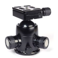 Triopo B-3 B3 Photography Heavy Duty Camera Tripod Action Ball Head Quick Release Plate
