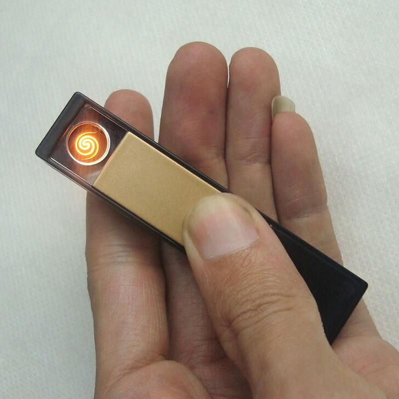 ถูก USBชาร์จอิเล็กทรอนิกส์ซิการ์บุหรี่ไฟแช็กFlamelessไฟแช็ก