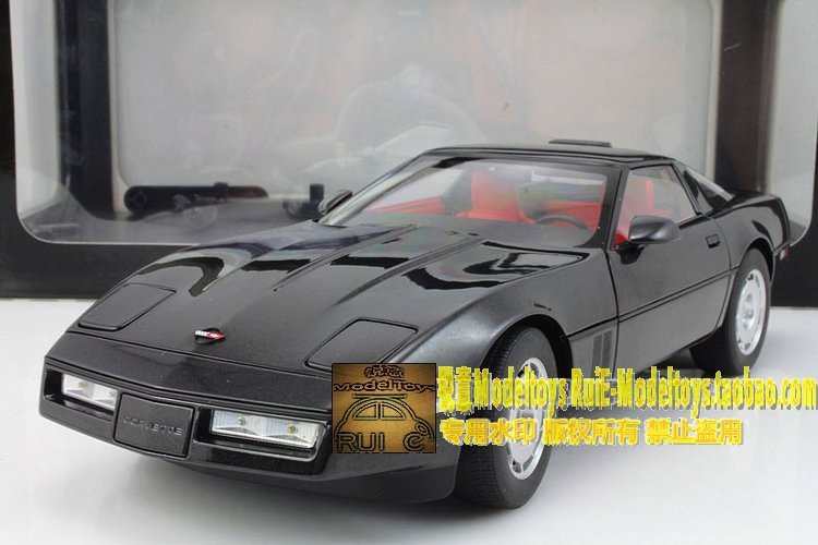 AUTOart Alto 1986 Chevrolet Corvette Chevrolet CORVETTE black