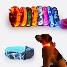 Камуфляж гибкая длина 35 — 60 см из светодиодов лампы ошейник с 7 цвета полосы света стиль вспышка света из светодиодов поводок собаки для домашних собак / кошек