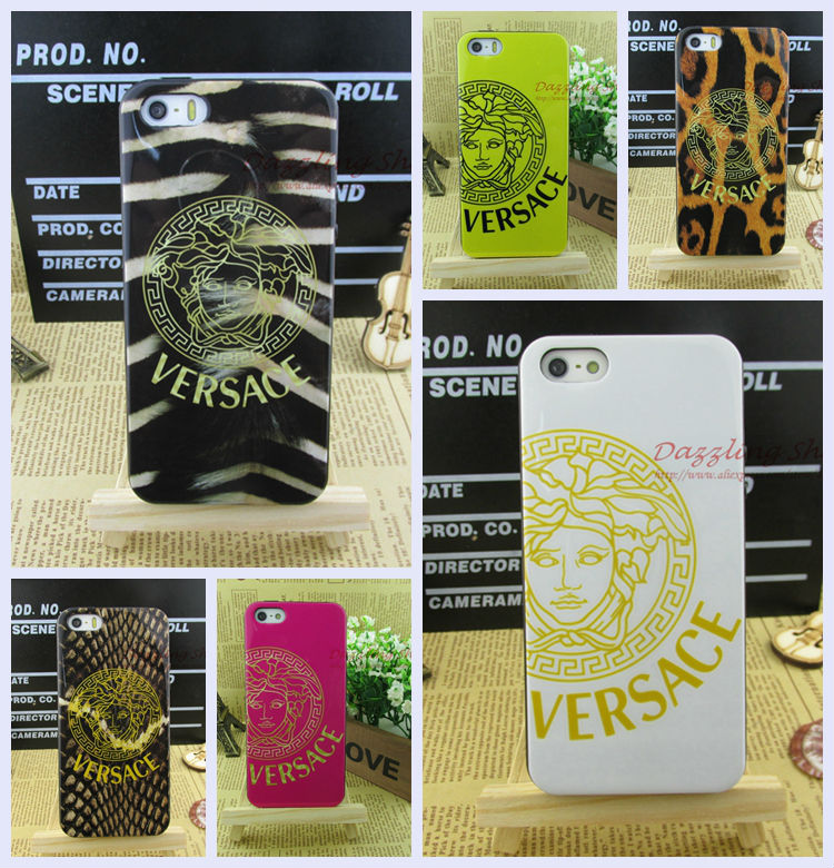 hit Dirt-resistant soft cell phone case iphone5/5s/5g luxury cases colorful leopard print RIP514082401 - ShenZhen DZL Trade co., LTD. store