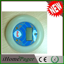 Food street UFO wireless calling pager system (1keyboard 1base 10pagers 1station)(China (Mainland))