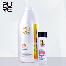 Shampoo for keratin hair treatment hair care set hot sale 1000ml chocolate 8% formalin keratin repair damaged hair