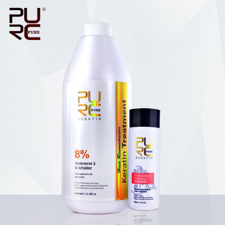 Shampoo for keratin hair treatment hair care set hot sale 1000ml chocolate 8% formalin keratin repair damaged hair <br><br>Aliexpress