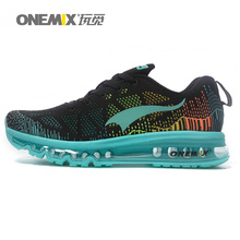 2016 Onemix Unique Design Different Outsole Air Chusion Ladies Running Shoes for Men Women Fly Free Run Sneaker Trail Knit