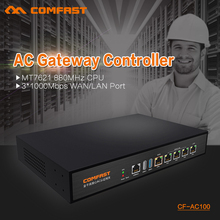 COMFAST CF-AC100 AC gateway controller MT7621 880Mhz Core Full Gigabit Gateway wifi project manager with 4*1000Mbps WAN/LAN port(China (Mainland))