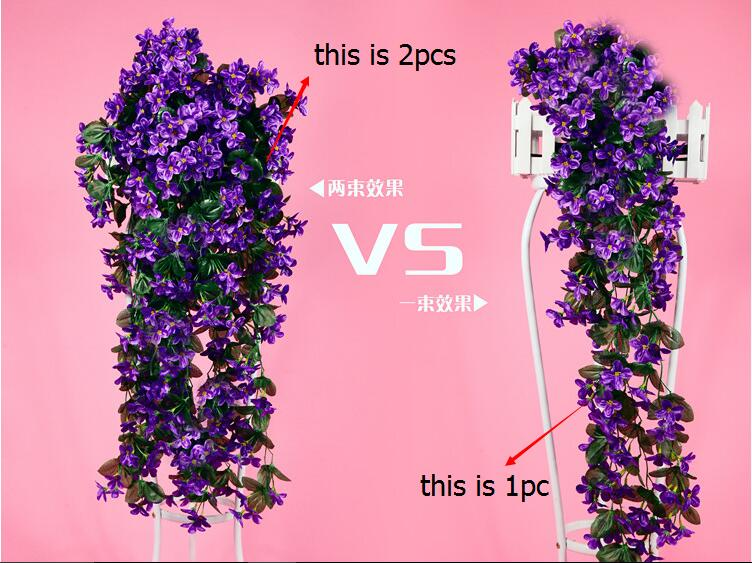 Cheapest Silk Flower Hanging Baskets : Popular artificial flowers hanging baskets buy cheap