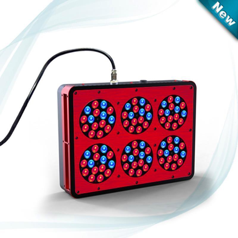 wholesale 4pcs/lot high power Apollo 6 LED Grow Light AC100~240V AC100~240V Color Red/Blue(China (Mainland))