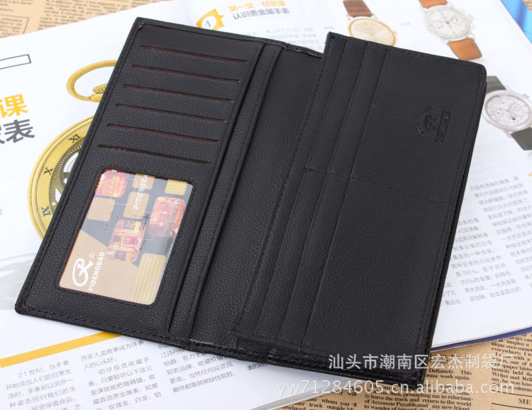 2015 Rushed Sale Photo Holder Wallets Professional Wholesale Purse with A Zipper -bit Multi-card Wallet Leather Wallets Suit Bag(China (Mainland))
