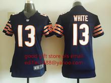 ЖЕНЩИН Chicago Bears дам 13 Кевин Белый 17 Alshon джеффри 89 Майк Ditka 34 Уолтер Пэйтон 22 Мэтт Форте, камуфляж(China (Mainland))