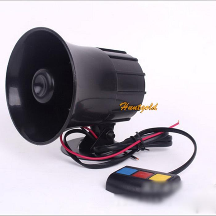 Hot 3 Sounds PA System 12V Loud Horn Amplifier for Car Auto Van Truck Motorcycle(China (Mainland))