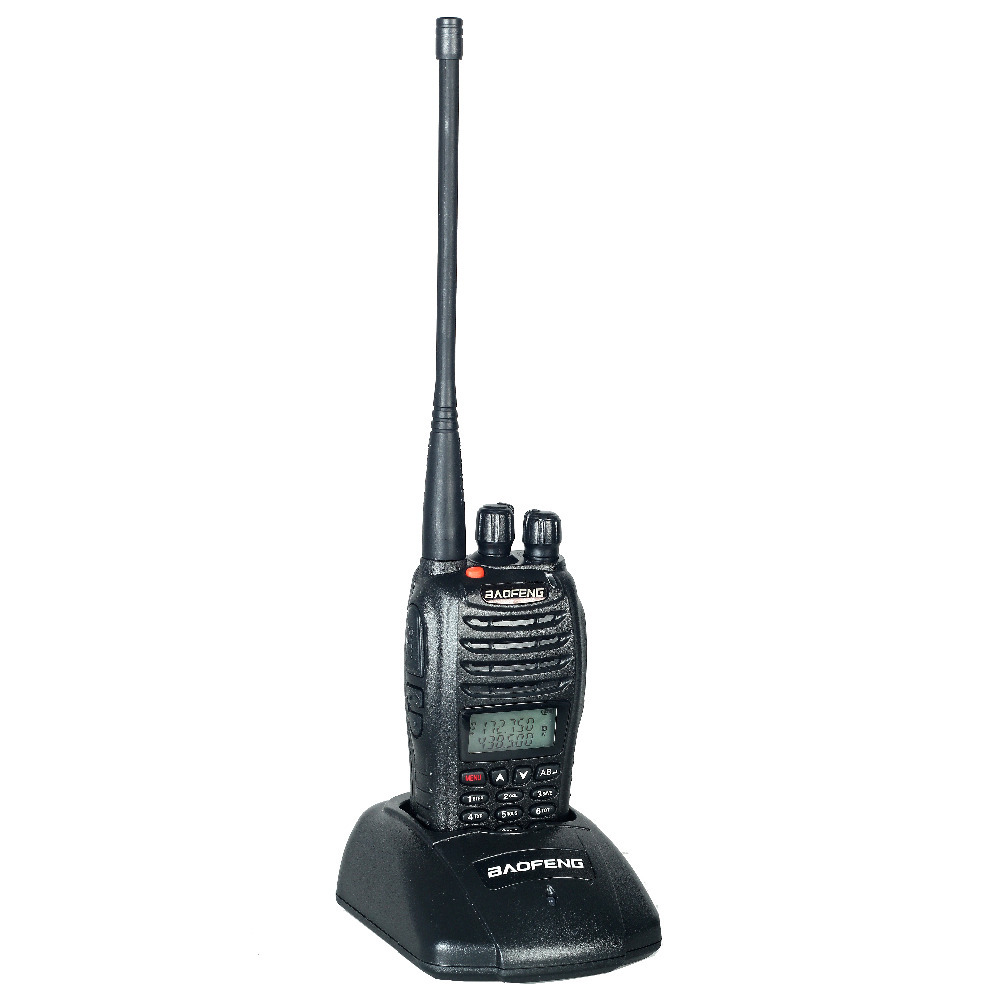 Best Walkie Talkie baofeng UV-b5 Dual Band Two Way Radio 5W 128CH UHF VHF FM VOX Pofung UV b5 ham radio Dual free headset(China (Mainland))