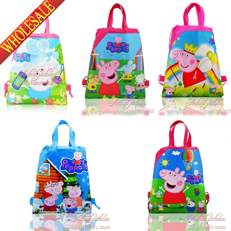 Popular Pig Drawstring Backpack-Buy Cheap Pig Drawstring Backpack ...