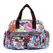 Women Handbag 2015 New Fashion Printing Waterproof Nylon Shoulder Messenger Bags Casual Women Bag Size 31*22*11.5cm YA0337