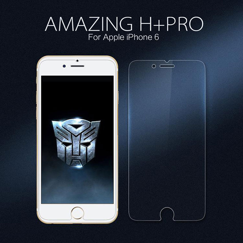 Nillkin Amazing H+Pro 0.2mm Ultra thin Anti-Explosion 9H 2.5D Screen Protector For iPhone 6/6S 4.7'' Front Tempered Glass Film(China (Mainland))