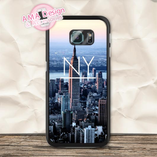 NY New York City Hard Durable Case For Galaxy S6 Edge Plus S5 mini S4 active S3 Core Prime A7 A5 A3 Win Ace 3 Note 5 4(China (Mainland))