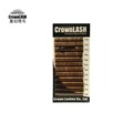 Crownlash 0 15 Brown Eyelash Extension D curve 8 13mm mixed size tray extreme curly Crown