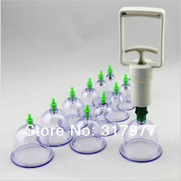 36 Cups/sets Massage Cup Vacuum Body Cupping Set Portable Vacuum Body Massager(China (Mainland))