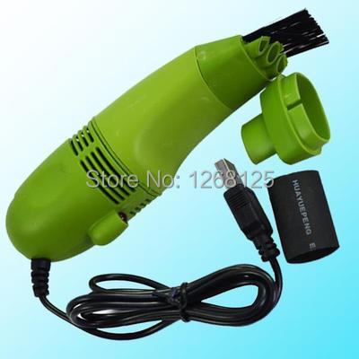 Free Shipping Hot Mini USB Vacuum Keyboard Dust Collector For LAPTOP Notebook PC Cleaner 7195 VWAprg(China (Mainland))