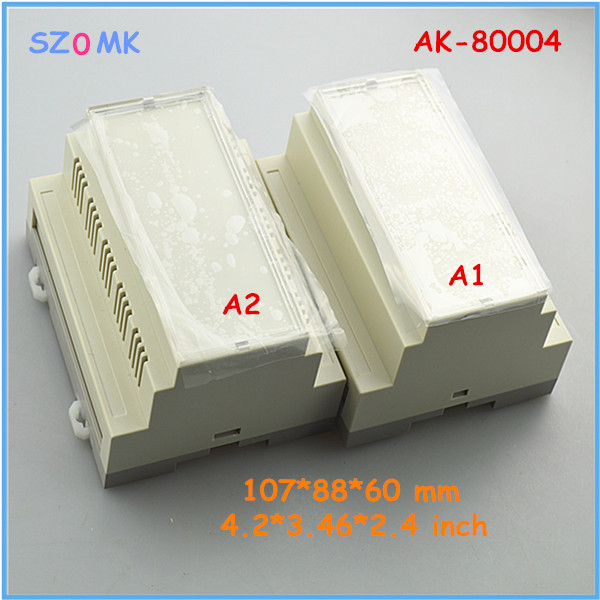 free shipping electrical junction box (1pcs)107*88*60 mm instrument housing case control box abs plastic electronic junction box<br><br>Aliexpress