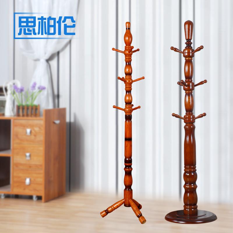 деревянная вешалка Деревянный пол воском минималистской моды вертикальная вешалка для одежды ИКЕА стеллажи деревянные