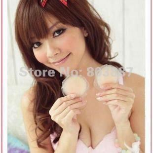50pairs/lot Girls Womens Silicone Nipple Cover Bra Pad Skin Adhesive Reusable Breast Cushion 2 designs