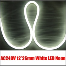 12V Mini white neon flex 10Meters per lot for signage decoration lighting,DIY home lighting(China (Mainland))