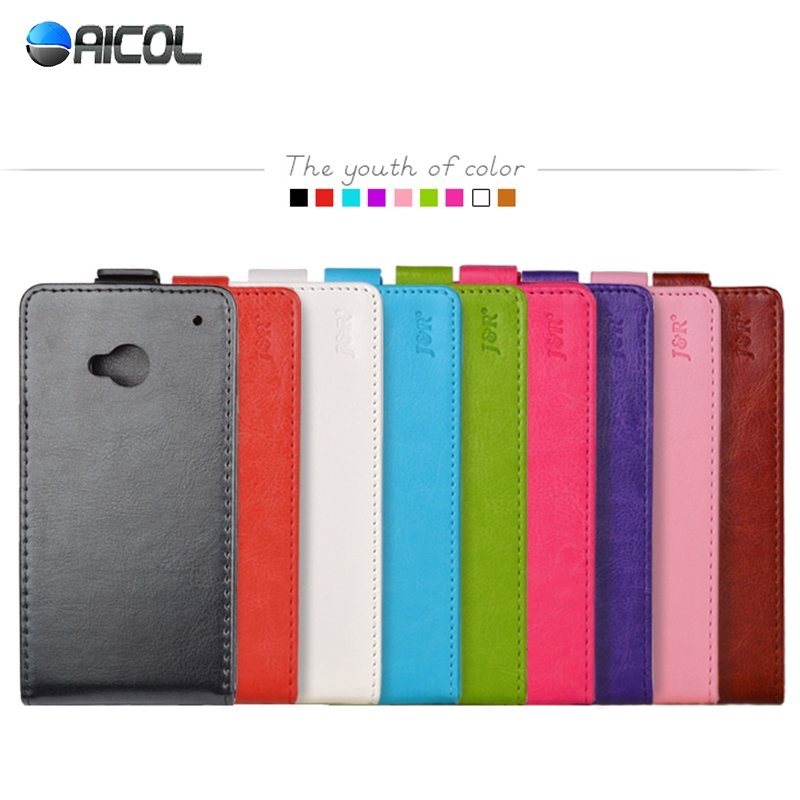 New PU Leather Case For HTC ONE Dual Sim 802w 802t 802d Flip Cover Vertical MagneticFree ship(China (Mainland))