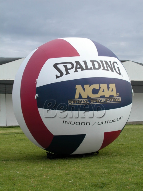 AG096 Free shipping+blower Inflatable Volleyball Model Hot Air Balloon , Ground Advertising Balloons , Inflatable Sports Balls(China (Mainland))