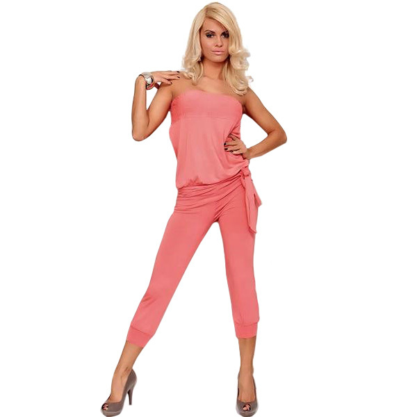 2015 Hot Selling Solid Sleeveless Blouse Overall Bodysuits Casual Summer Woman Bodysuit Rompers Jumpsuit Womens - Fashion Kings Store store