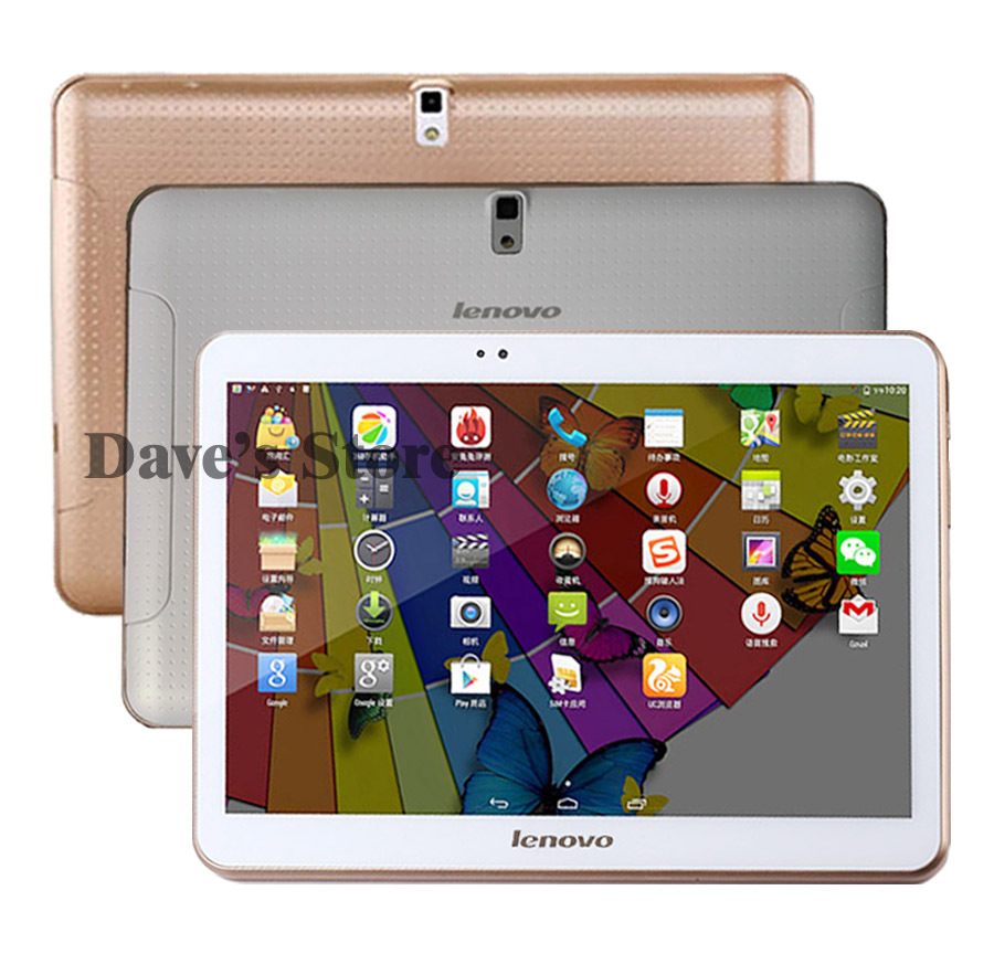 2015 new Lenovo s6000 10 5 inch 3g tablet pcs phone Tablet PC Octa core IPS