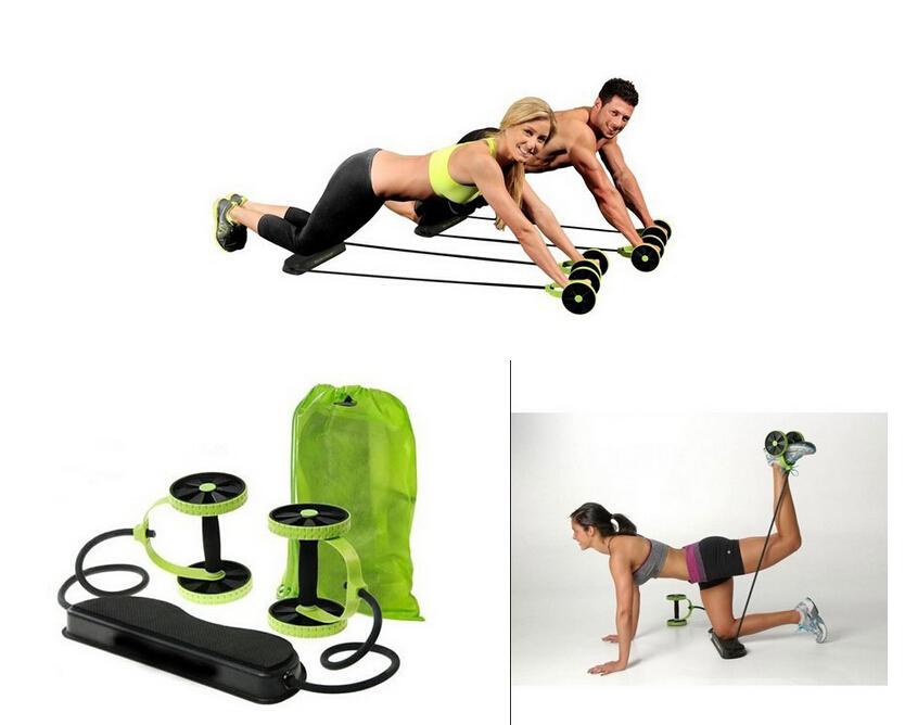 Multifunction Waist Equipment home fitness ab roller Revoflex Xtreme Abdominal Resistance Exerciser abdominal YC040-SZ