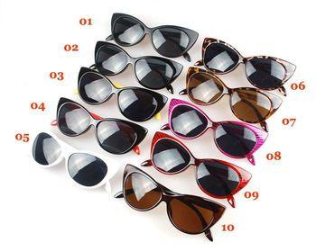 RunBird Fashion Cat Eye Sunglasses for Women Classic Brand Designer Twin-Beams Sunglasses Coating Mirror Flat Panel Lens M195