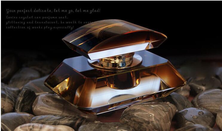 Luxury Coffee Ocean Blue Auto Air Freshener Purifier Scent Car Perfume Fragrance Bottle(China (Mainland))