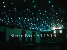 200 mix star ceiling kit 3m long + 16W LED light engine with remote--for EU and US market only(China (Mainland))