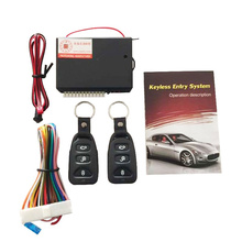 Universal Car Remote Central Kit Door Lock Vehicle Keyless Entry System Hot Worldwide(China (Mainland))