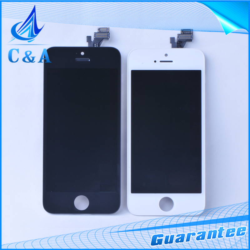 replacement repair mobile phone parts for iphone 5 lcd 5g display with touch screen digitizer with 1 piece free shipping(China (Mainland))
