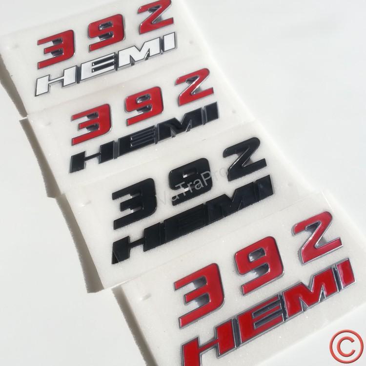 392 HEMI Fender Side Emblem Badge for Dodge Challenger SRT 6.4L SRT8(China (Mainland))