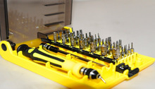 2014 New 45 in 1 Precision Screwdriver Cell Phone Repair Tool Set Kitchen Garden