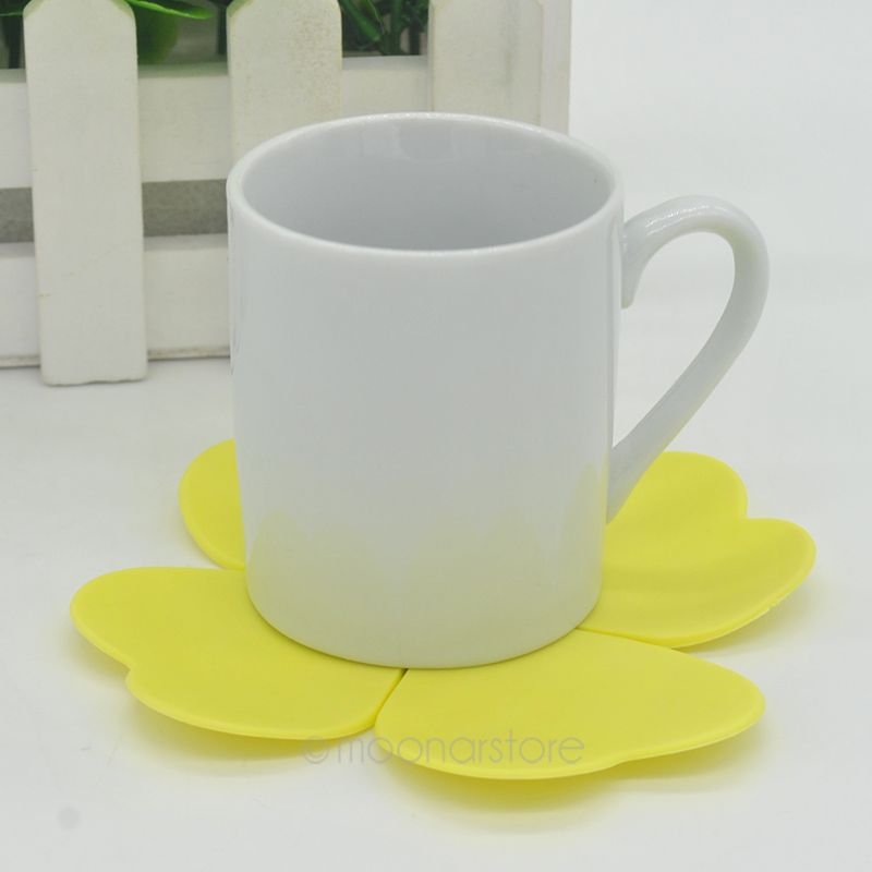 Heat Resistant Table Trivet Cup Coaster Mat 1 Pic Flower