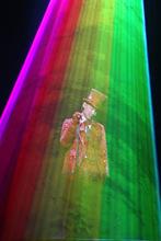 Stage Lighting Laser 12Watt RGB Animation Laser Light System Red 635nm/2W,Green 4W,Blue 4W+DT40Kpps+flightcase(China (Mainland))