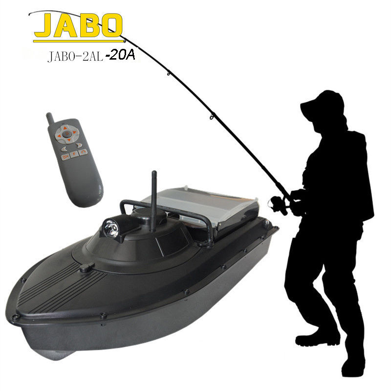 Jabo 2al 20a pro wireless rc fish finder fishing tackle for Rc boat fishing