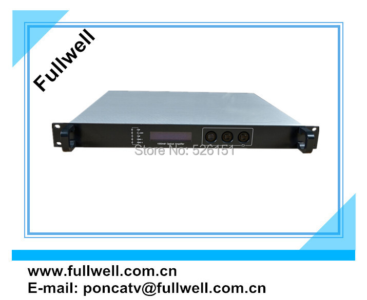 22dBm, 1/2/4 ports output, 1550nm optical catv edfa(China (Mainland))