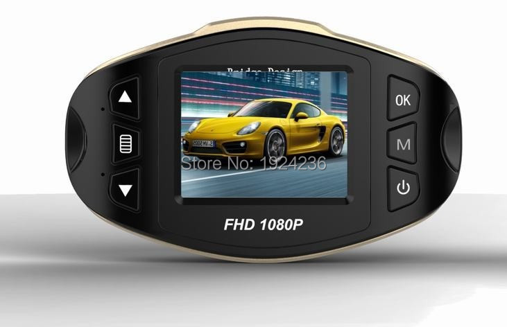 NEW  Car Video H500 Mini Car DVR FULL HD Camera 1.5 Screen 170 Degree Wide Angle G-sensor IR night vision Video Recorder