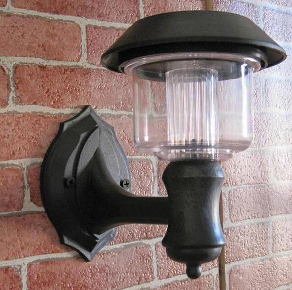 Lampes solaires applique murale ext rieure moderne - Appliques solaires exterieures ...