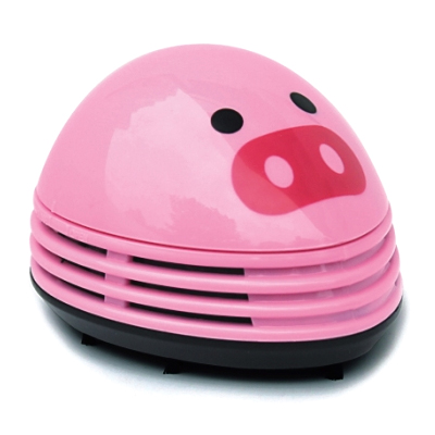Electric Desktop Vacuum Cleaner Mini Dust Cleaner Pink Pig Prints Design(China (Mainland))