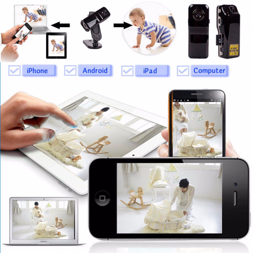 Mini Camera WIFI IP Security Camera Video Recorder Network Webcam Camcorder Mini Video Camera for Home Baby Security<br><br>Aliexpress